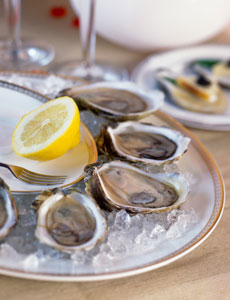 oysters ice lemon md Eating for Your Skin & More