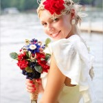 Nautical Wedding Dress