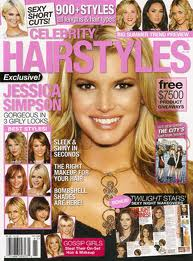 Celebrity Hairstyles Magazine Jessica Simpson