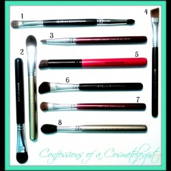 Bare Minerals Eye Makeup Brushes