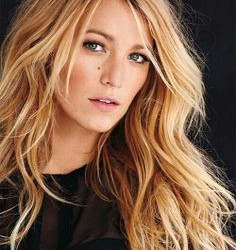 Blake Lively Messy Dirty Hair