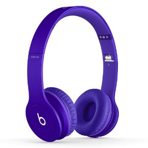 Beats by DRE Headphones SOLO On Ear HD Purple