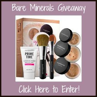 WinBare Minerals Makeup Giveaway Widget