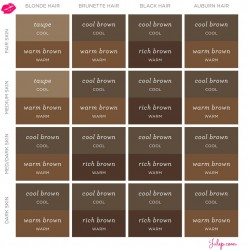 Eyebrow-Color-Chart-Julep