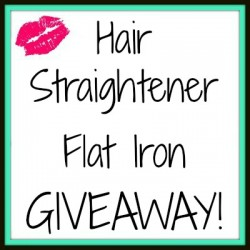 Hair-Straightener-Flat-Iron-GIVEAWAY