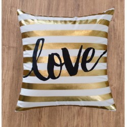 Throw-Pillow-Gold-White-Love