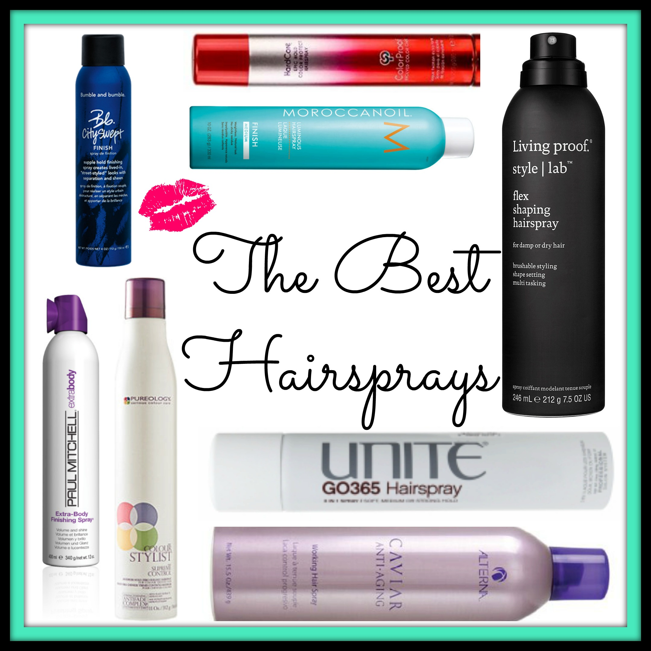 best hairsprays | confessions of a cosmetologist