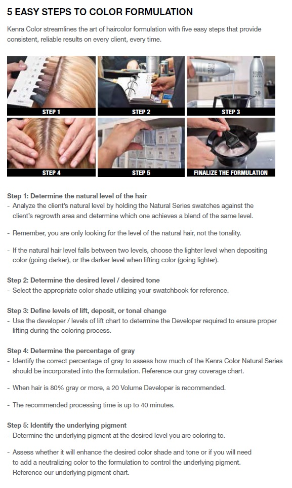 Kenra Hair Color Manual
