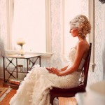 Vintage Glam Wedding Dress