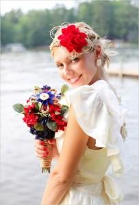 Nautical Wedding Dress