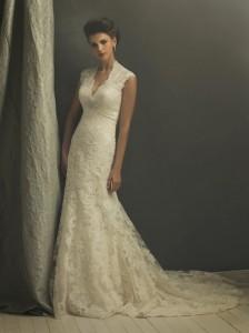 Vintage / Modern Wedding Dress