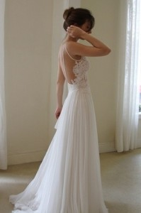 Classic Modern Wedding Dress