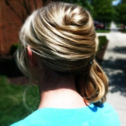 Elegant Side Pony Updo