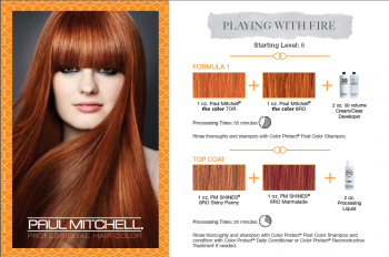 Paul Mitchell Color Cards