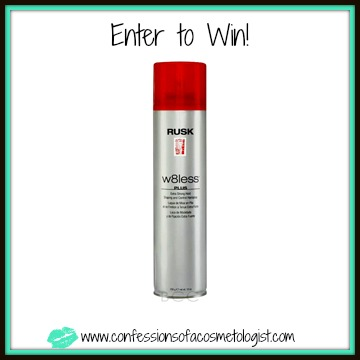 RUSK-W8Less-Extra-Strong-Hold-Hairspray-Giveaway