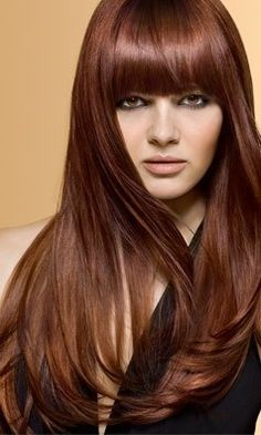 Brown/Copper Hair Color