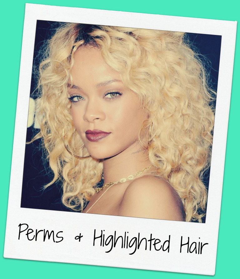 Perms With Highlighted Hair Confessions Of A