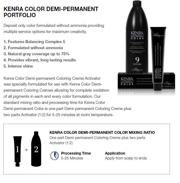 Kenra Demi Permanent Color